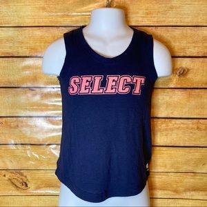 3/$30 Soffe Navy Blue Select Tank Top XS (5-6)